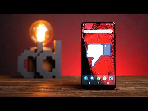 Essential Phone (PH-1) – эталонный Android-смартфон (нет)