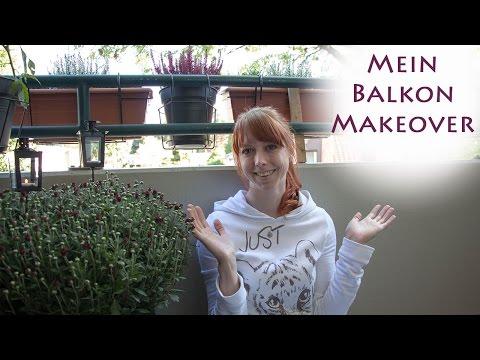 Balkon Makeover/ Gestaltung Für Den Herbst