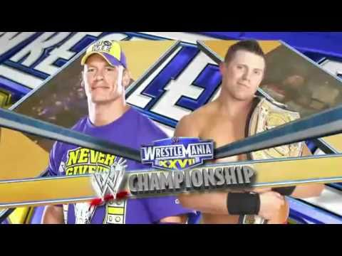 Wwe Wrestlemania 27 Match Card video