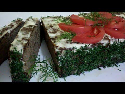 Печеночный пирог!!!(очень вкусный и полезный!!!)