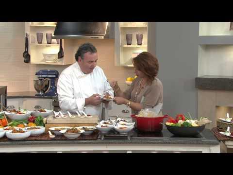 Golden Wok (5) 13 oz. Gourmet Chinese Chicken Sampler with Sharon Faetsch