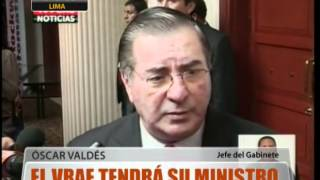 El Vrae Tendr Su Ministro En El 2013