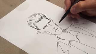 """Comment j'ai dessiné """"Le premier homme"""", la leçon de dessin de Jacques Ferrandez"""