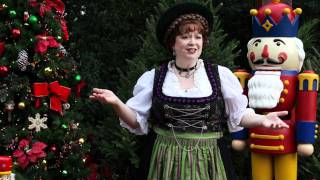 Christmas EPCOT Germany Holiday Storyteller Helga