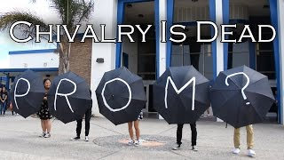 UMBRELLA PROMPOSAL DANCE - Chivalry Is Dead