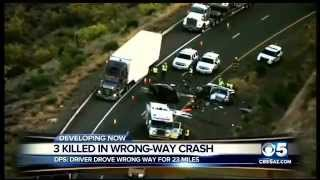 DPS identifies 3 killed, family members in I-17 head-on crash