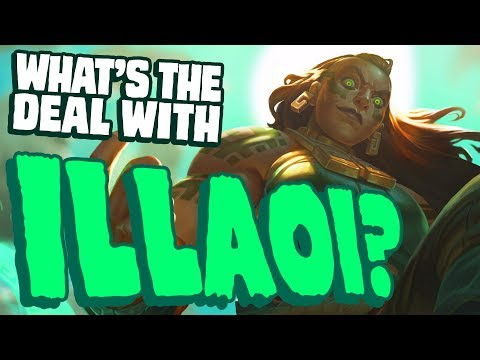 What's the deal with Illaoi? || Character design & lore discussion