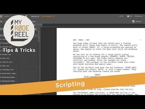 My RØDE Reel Tips & Tricks - Scripting