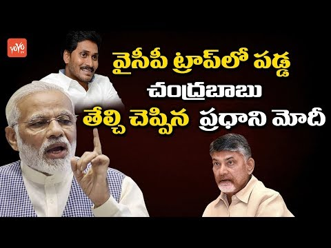 PM Modi Comments on Chandrababu Over AP Special Status | YS Jagan | AP News | YOYO TV Channel