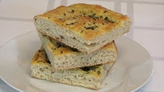 Flatbread with Rosemary & Olive Oil -- Lynn's Recipes