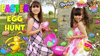 EASTER EGG HUNT - Hidden Surprise Toys - Shopkins, Yowie Surprise Eggs, Puppy In My Pocket