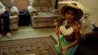 Cook Islands Boy dancing (part 2)