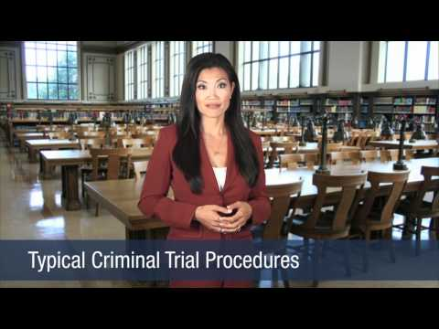 criminal trial procedures Criminal procedure is the adjudication process of the criminal lawwhile criminal procedure differs dramatically by jurisdiction, the process generally begins with a formal criminal charge with the person on trial either being free on bail or incarcerated, and results in the conviction or acquittal of the defendant.