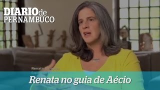 Renata Campos participa de programa eleitoral de A�cio