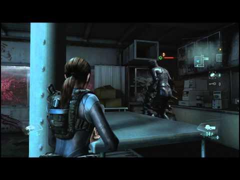 Resident Evil: Revelations - Gameplay - Raid Mode - Режим Рейд - Этап 2/3 - PC [1080p]