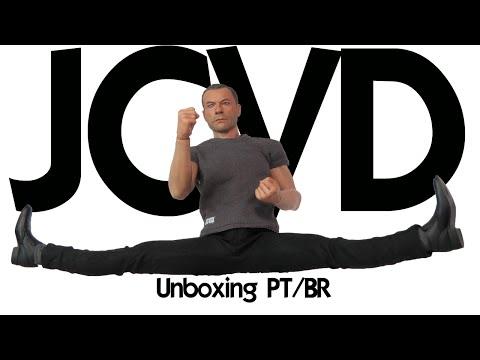 Caixa de Pandora #165 - JCVD - Jean-Claude Van Damme - Enterbay - Escala 1/6 - PT/BR