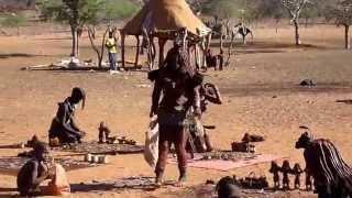 Himba village near Epupa falls, Namibia