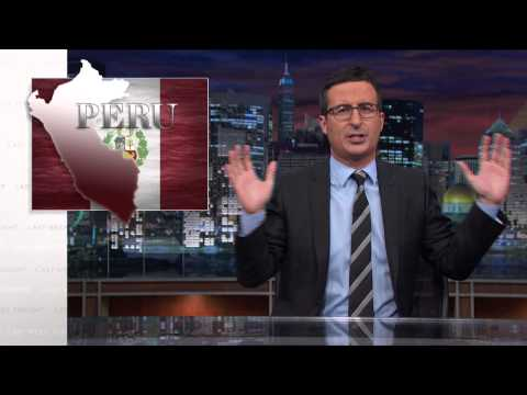 Last Week Tonight with John Oliver: Step Up, Peru (HBO)