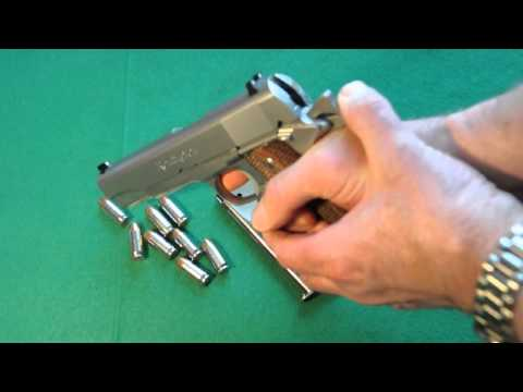 Remington R1 1S 1911 Stainless Steel .45 ACP - Part 1