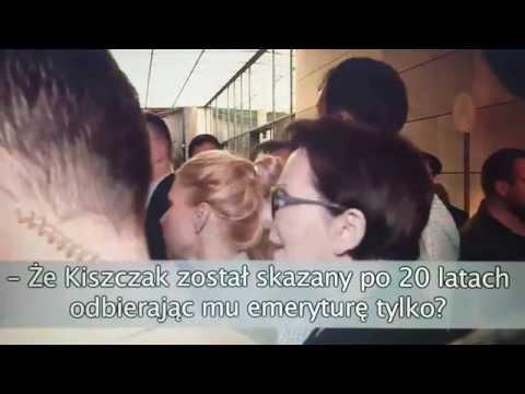 Ewa Kopacz We Wrocławiu - Demonstracja Przed Teatrem Capitol