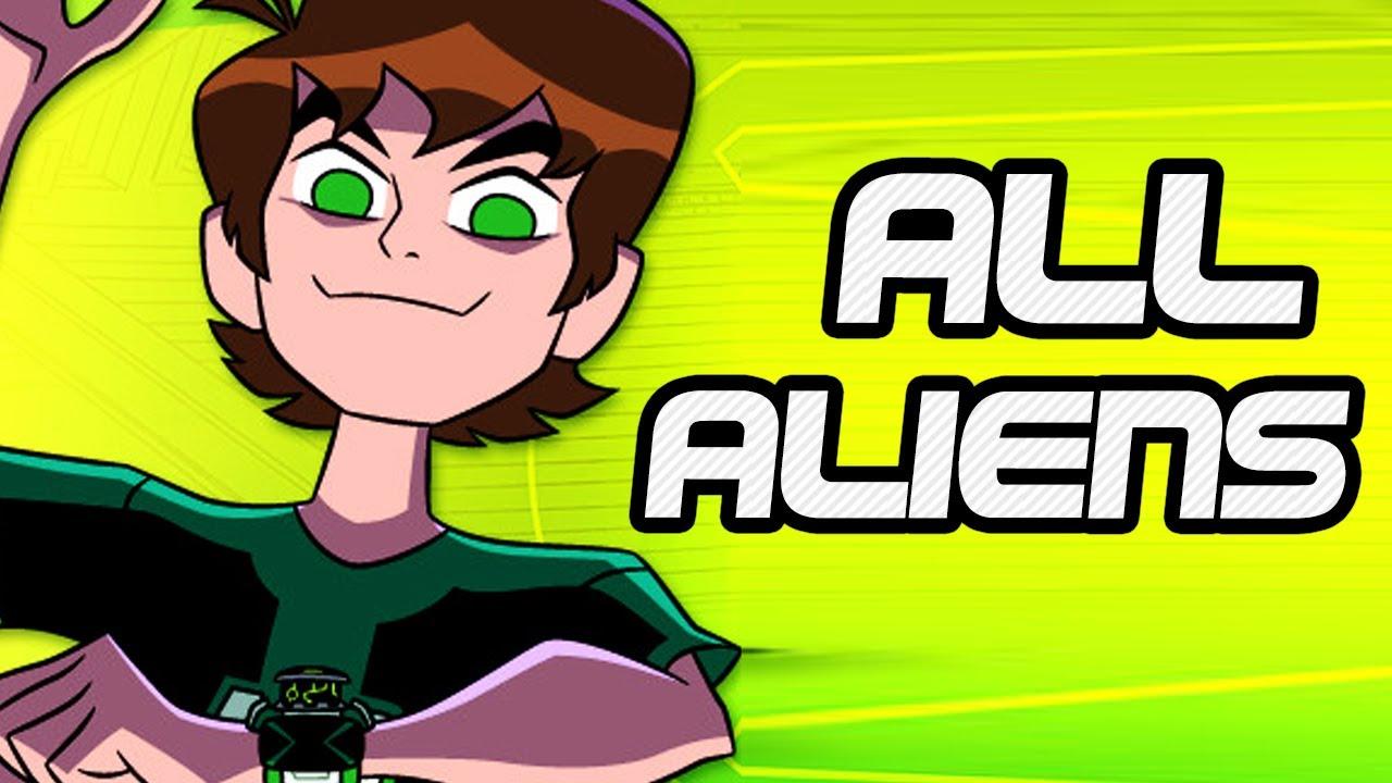 how to draw ben 10 omniverse aliens