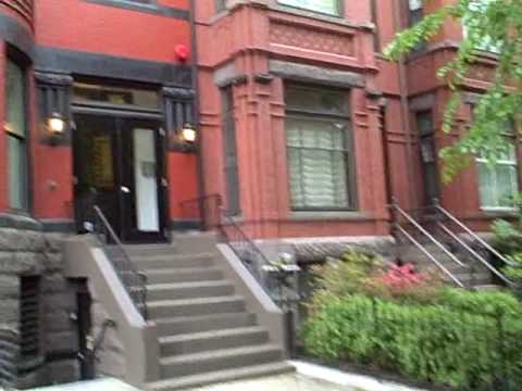 Shady Rhode Island Avenue off Logan Circle in Washington DC Video
