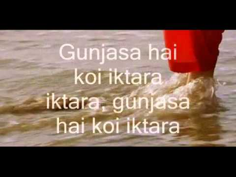 Iktara-Karaoke & Lyrics-Wake Up Sid