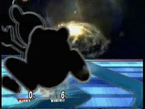 Super smash bros. Brawl - all kirby forms + attacks