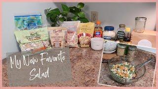 My New Favorite Salad | Refreshing Summer Salad Recipe | Delicious Salad Dressing