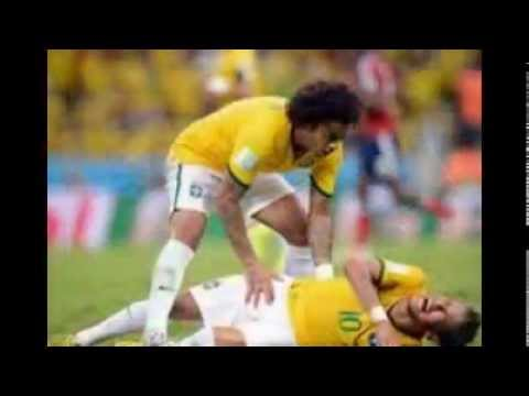Neymar injury,World Cup 2014: FIFA Analysing Neymar Injury Incident