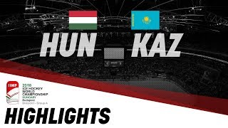 Hungary - Kazakhstan | Highlights | 2018 IIHF Ice Hockey World Championship Division I Group A