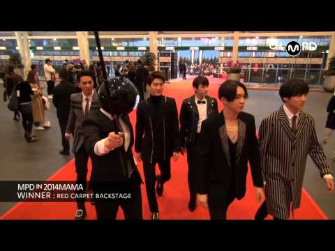 [MPD in 2014MAMA] 141203 WINNER : RED CARPET BACKSTAGE