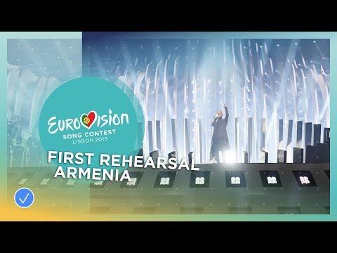 Sevak Khanagyan - Qami - First Rehearsal - Armenia - Eurovision 2018