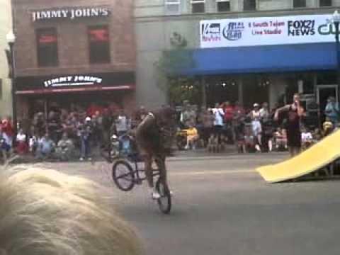 Colorado Springs Olympic Festival BMX Tricks show 07272012