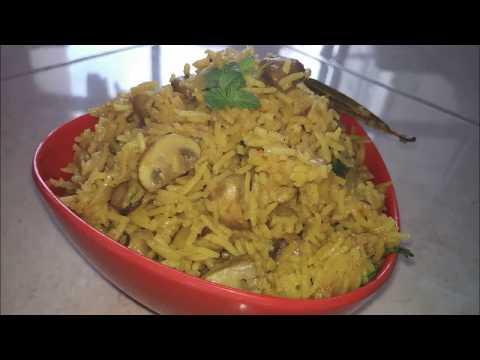 mushroom pulao recipe in odia I  ଛତୁ ପୁଲାଓ I roshniscuisine