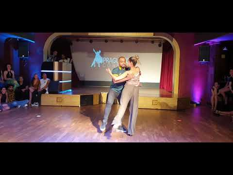 Carlos and Fernanda Braziian Zouk demo at Prague Zouk Congress 2019