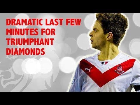 Dramatic last few minutes for triumphant Diamonds