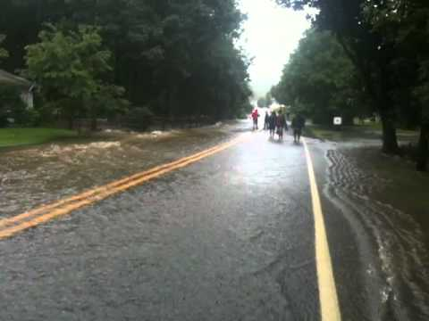 Culver Brook Flooding Branchville NJ II