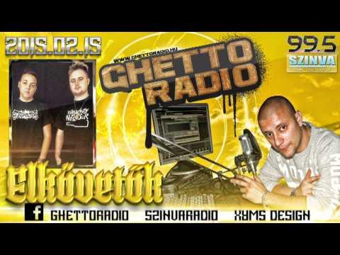 Ghetto Radio 2015 - Elkövetők Interjú (02.15.) @ Szinva Rádió Miskolc