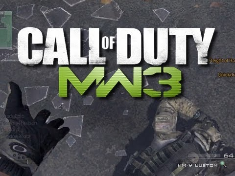 MW3 - UNLIMITED SUICIDE!  (Funny MW3 Custom Game!)