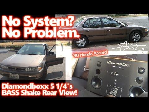 No Sound System? No Problem! Diamondboxx 5 1/4