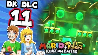 Mario Rabbids Donkey Kong Adventure DLC Part 11 World 4 The Dungeons!