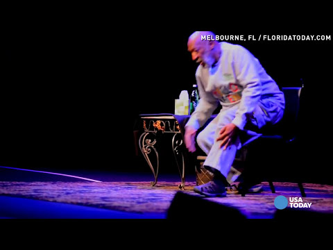 Bill Cosby performs at a packed show in Florida