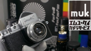 How to use a Zenit-C Russian made film camera. shooting is GX7MK2 4K /muk #173