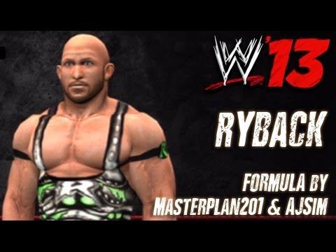 WWE '13 Ryback CAW Formula by Masterplan201 & AJSim