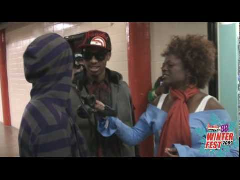Power 98: The New Boyz Interview at Winterfest '09!