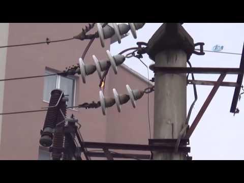 Elektrik Arkının Çıkardığı Ses Mahalleliyi Korkuttu