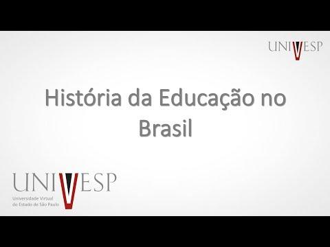 História da Educação no Brasil Aula 1 Introdução à disciplina