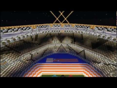 Minecraft: London 2012 Olympic Stadium