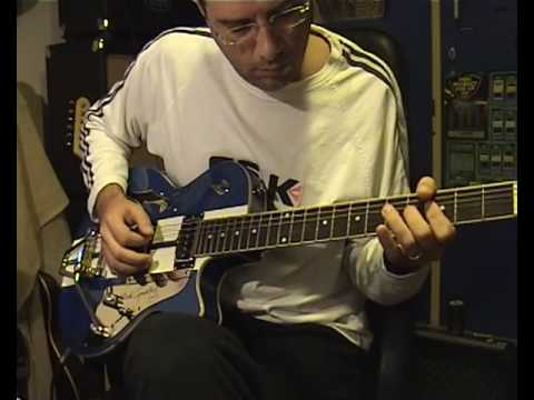 Duesenberg Starplayer TV Mike Campbell model (clean sound-all positions) video2